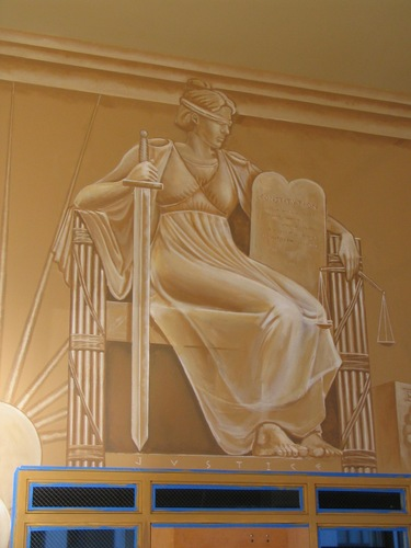 San Juaquin County law Library-detail