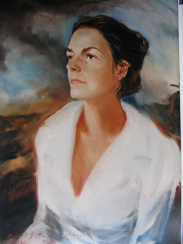commission portrait-'Cornelia Lorentzen'