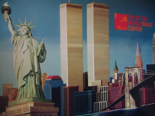 Second World Trade Center Mural