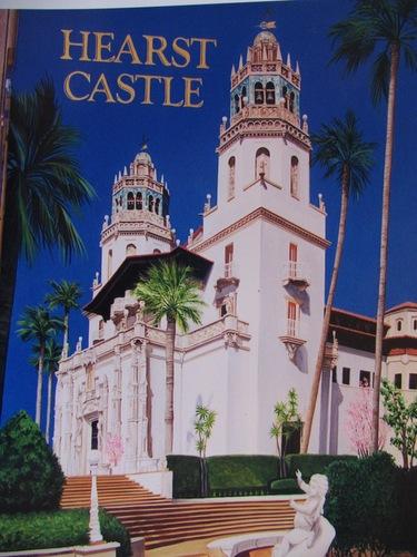 Hearst Castle mural