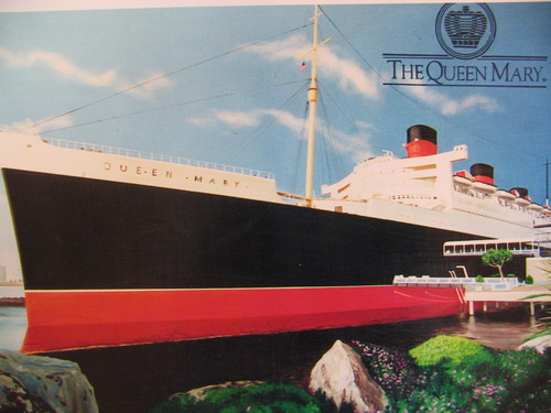 Queen Mary mural