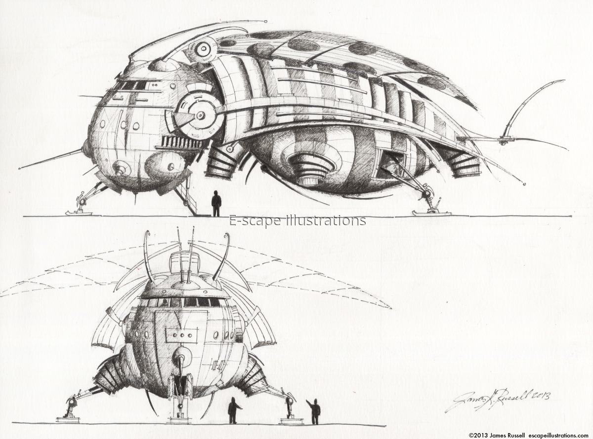 James K. Russell, Untitled ATV (large view)