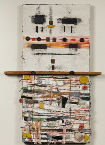 Vertical Diptych (fr Complexity to Simplicity) #3