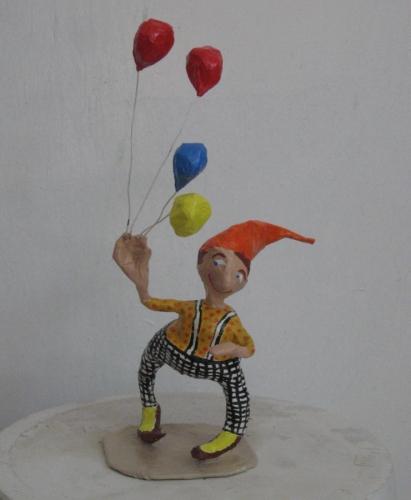 Balloon Seller, Circus