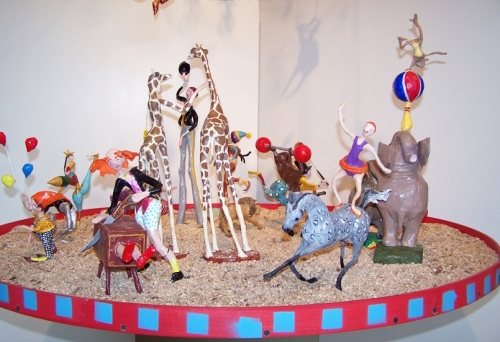 Circus in group