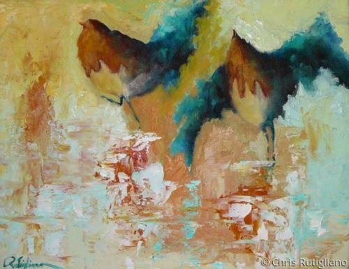Rumba by Chris Rutigliano Original Oil Paintings