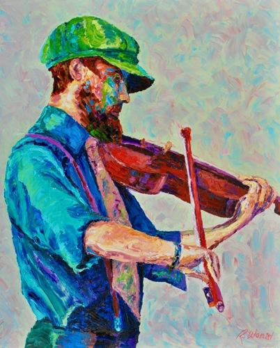 """""""Street Violinist"""""""