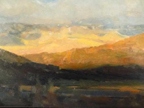 Morning light;  Ridgeway, CO