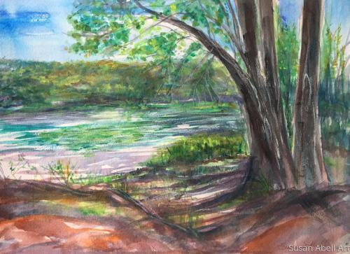A Moment in Time by Susan Abell Art