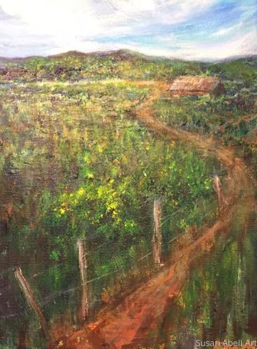 Mountaintop Experience by Susan Abell Art
