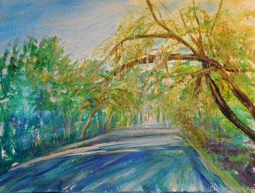 Destination by Susan Abell Art