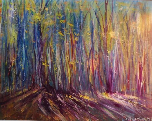 Where the Light Lives by Susan Abell Art