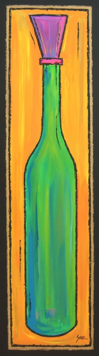 Wine Bottle 1 (large view)