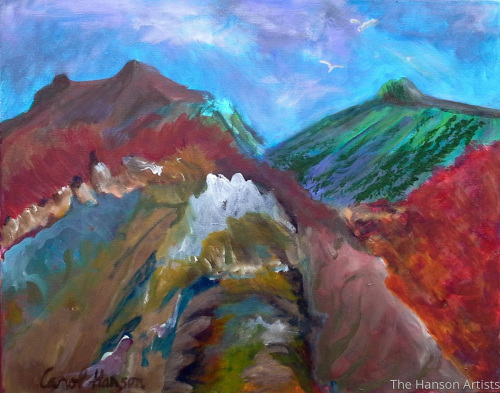 """Abstract Mountain"""