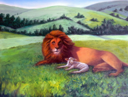 """The Lion and the Lamb"""