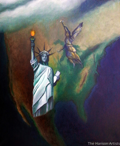 """America in Prophecy"""