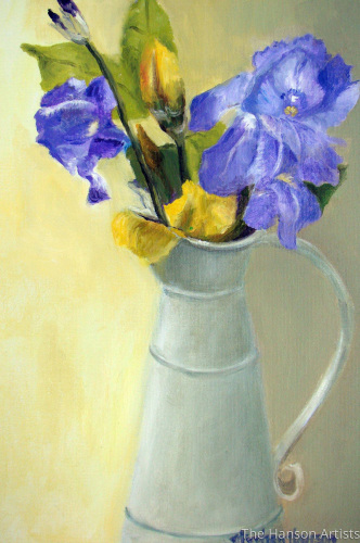 """Irises in Bloom"""