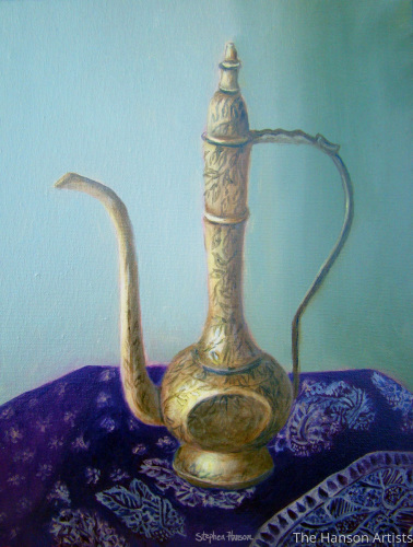 """Brass Decanter"""