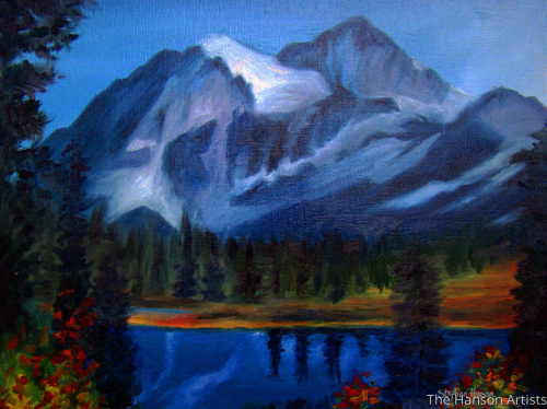 """Morning Light Upon the Mountain"""
