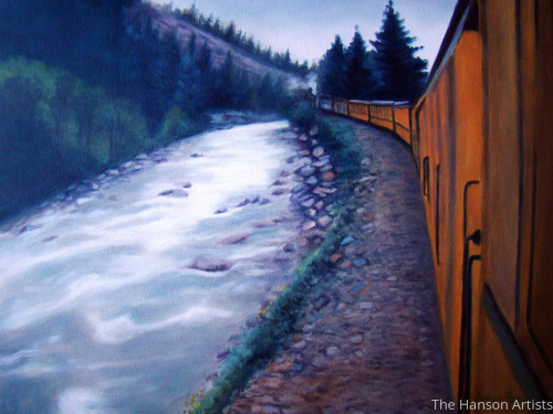 """Along the Rails"""