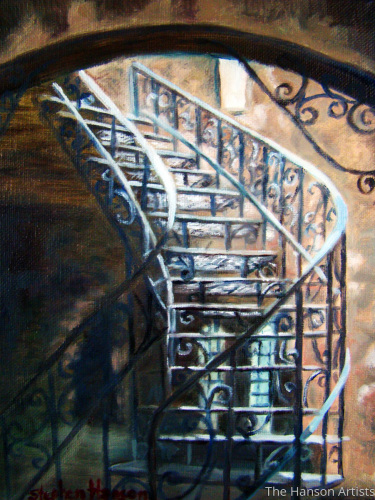"""The Winding Staircase"""