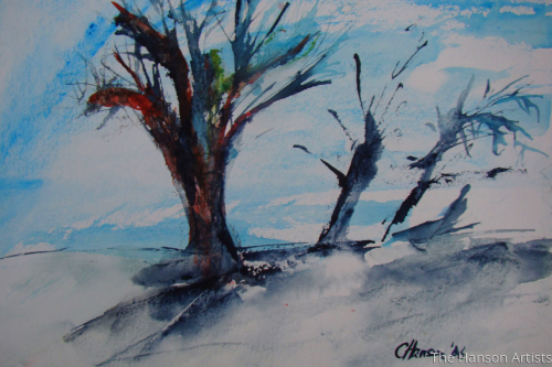 """Trees in the Wind"""