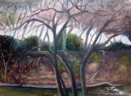 """River Scene at Tres Rios"""