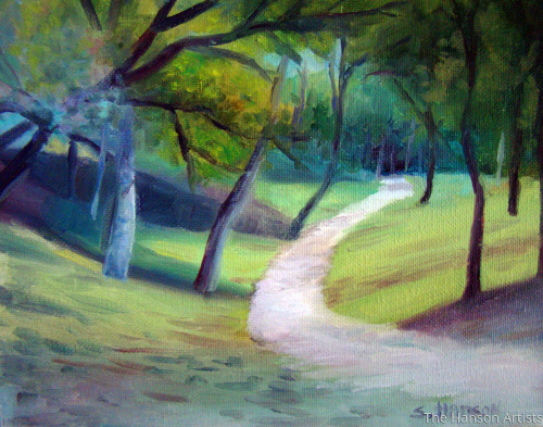 """Along the Pathway"""