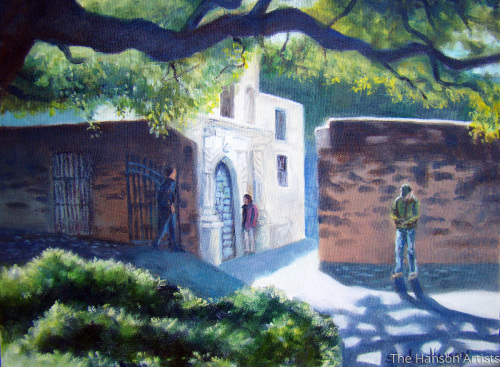 """Another View of the Alamo"""