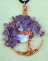 copper wire tree of life pendant (thumbnail)