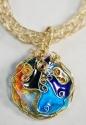 Cloisonne Pendant Necklace (thumbnail)