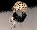 Cuff Bracelet & Earrings (thumbnail)