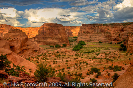 After the Storm (Canyon de Chelly) by Artist Craftsmen of New York