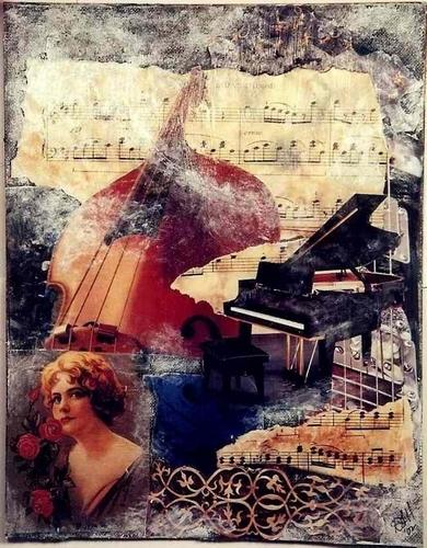 Musical Dream by Artist Craftsmen of New York