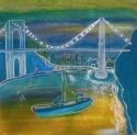 George Washington Bridge, Sailing (thumbnail)