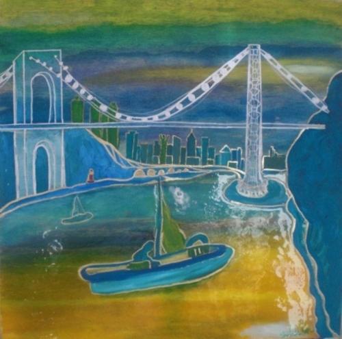 George Washington Bridge, Sailing