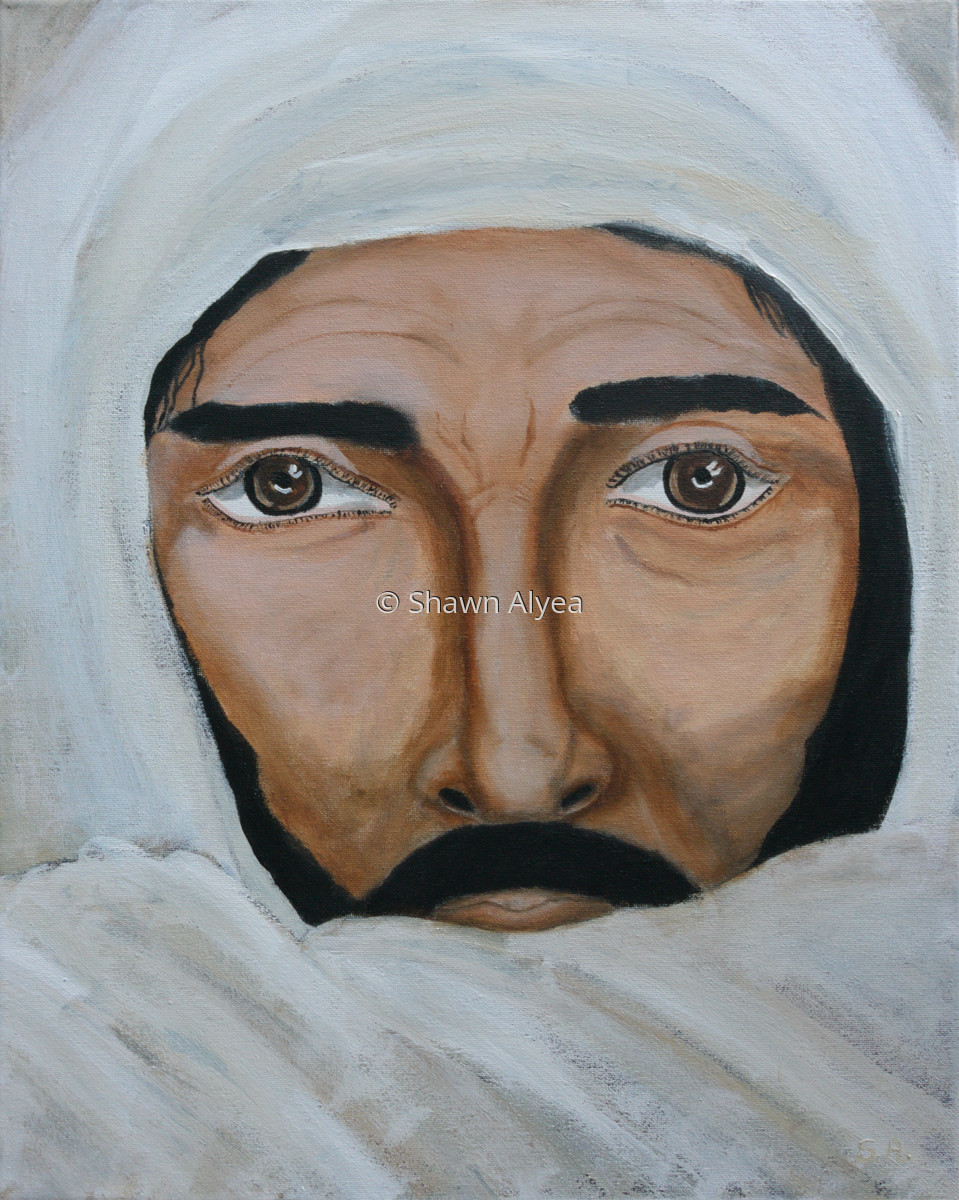 Christ in White Robe (large view)