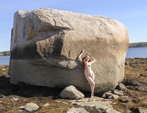 Jessamyne and Her Rock
