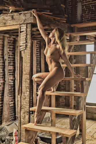 Rebecca in the Wrecked Factory #1