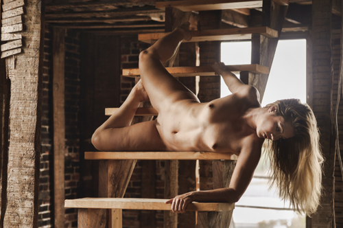 Rebecca in the Wrecked Factory #2