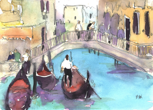 Venice Watercolor VI