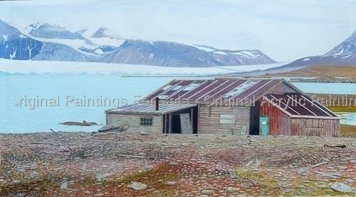 Arctic Hut, Kongsfjord - SOLD