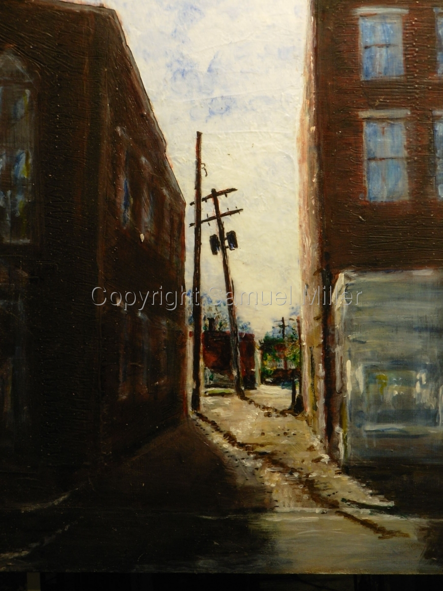 Alley by Friendship Firehall (large view)