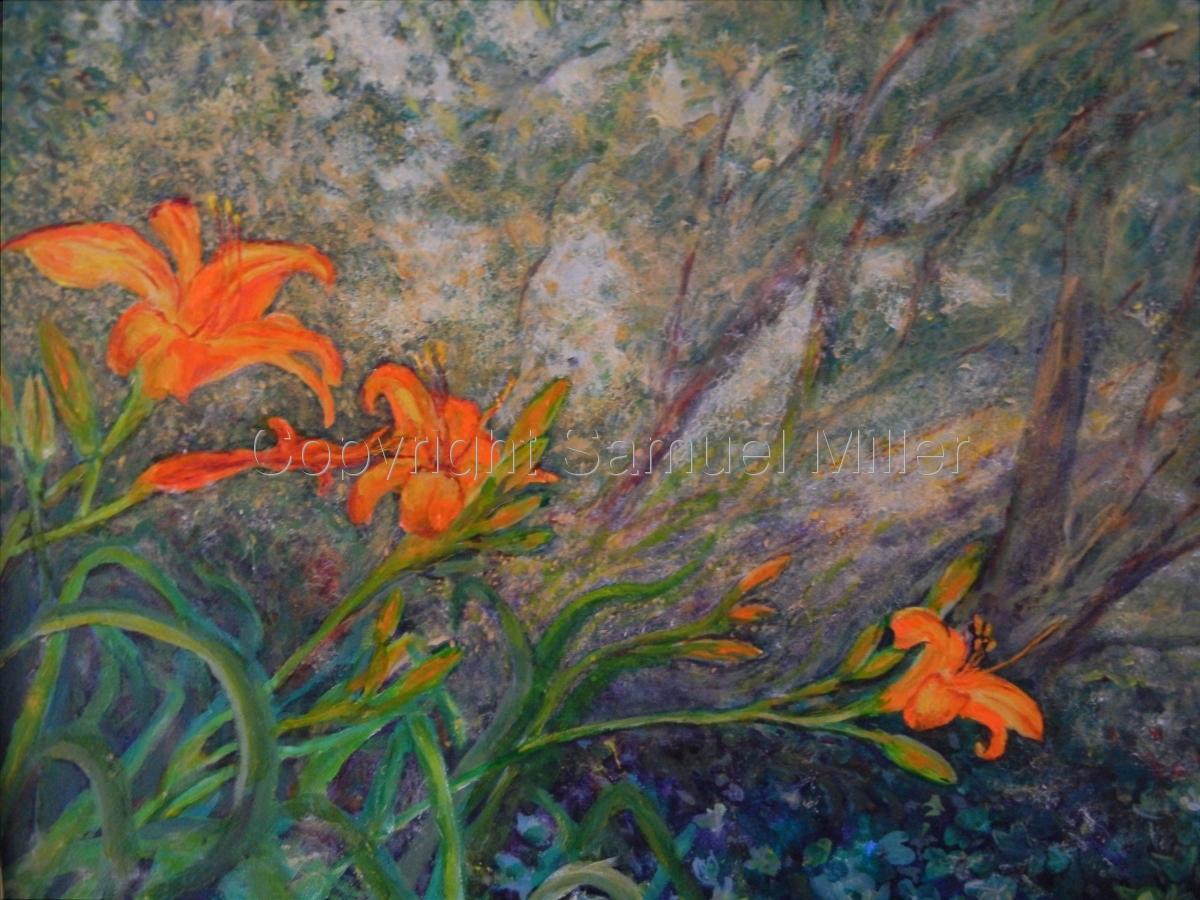 Fractal Lilies (large view)