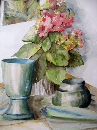 Hydrangea by Sandy Coulter