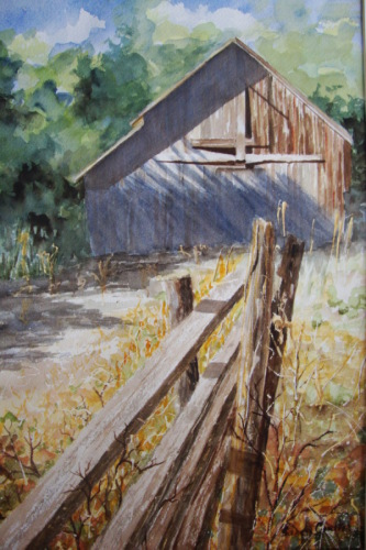 Occidental Barn by Sandy Coulter