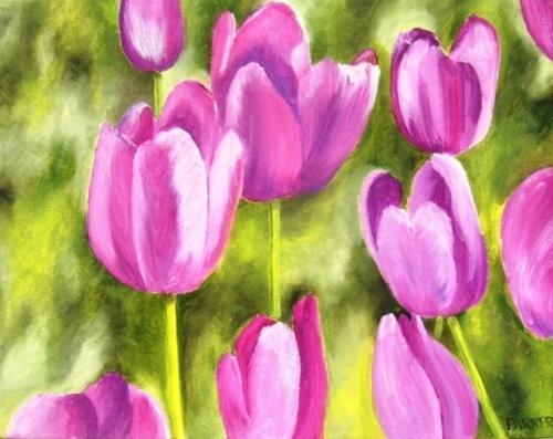 Tulip Series #2: Spring Tulips