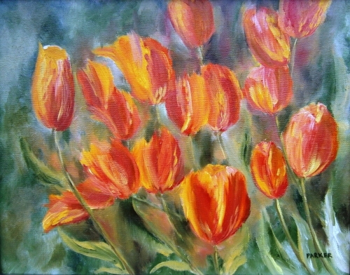 Tulip Series #3: Martine's Tulips