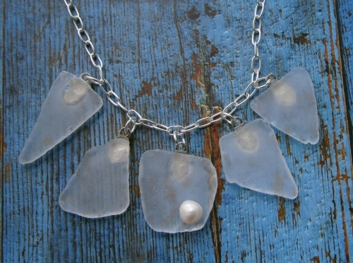 Seaglass Charm Necklace