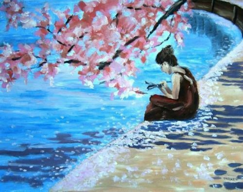 Crosswords Under the Cherry Blossoms